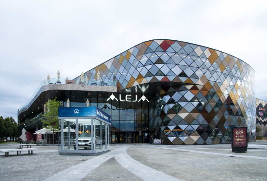ALEJA-Center Ljubljana by umdasch